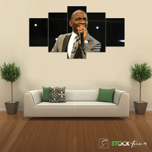 Canvas Print Split Panels (5 in 1) – Celebrities and Mentors