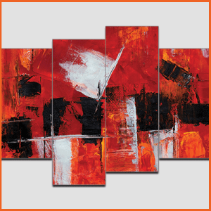 Canvas Print Split Panels (4 in 1) – Abstract