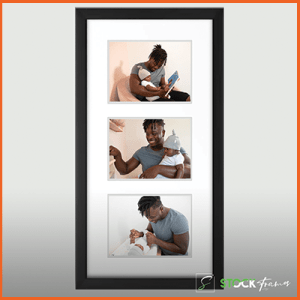 Collage Picture Frames (Three Images – Grid)