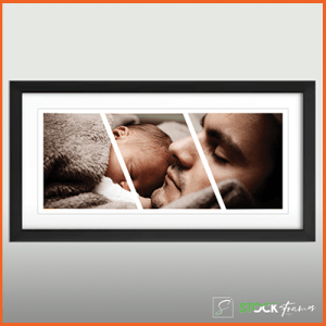 Collage Picture Frames (Three Images – Slides)