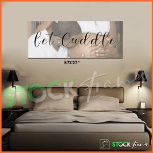 Canvas Prints Gallery Set Panels – Bedrooms (standard)