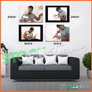 Canvas Prints Gallery Set Panels – 4 Images in 4 Frames