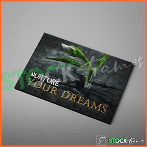 Canvas Prints Single Panels (Nurture Your Dreams) – 18×24 etc.