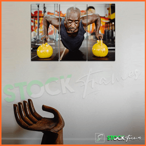 Split Canvas Prints Wall Art – For GYM Houses etc