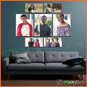 Canvas Gallery Wall Frames In Nigeria - 4 Sets, 4 Images