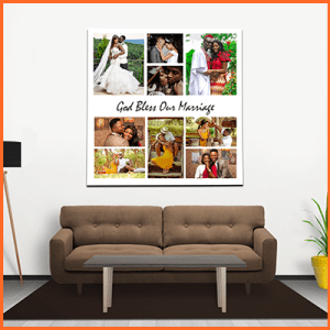 COLLAGE PICTURE FRAMES in Nigeria – God Bless Our Marriage Wall Arts