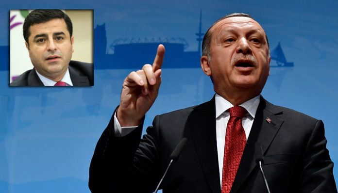 Turkey's Erdoğan: HDP co-chair Demirtaş is a terrorist who ordered to kill 53 Kurds