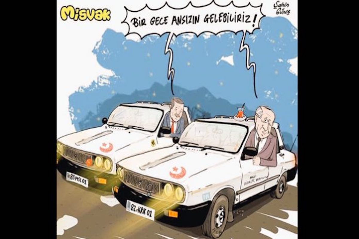 Pro Gov T Turkish Satire Magazine Deletes Provocative Cartoon Upon