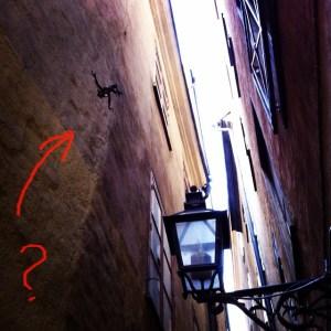 самая узкая улица в Стокгольме