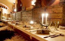 столы, хороший ресторан в Стокгольме Айфур