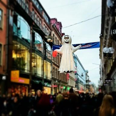 хэллоуин в Стокгольме
