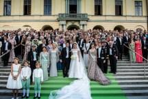Свадьба принцессы Маделен в Дроттнингхольме