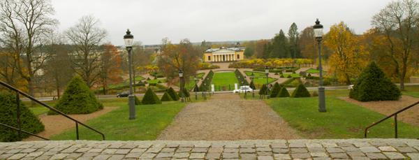 парк Карл фон Линней в Уппсале