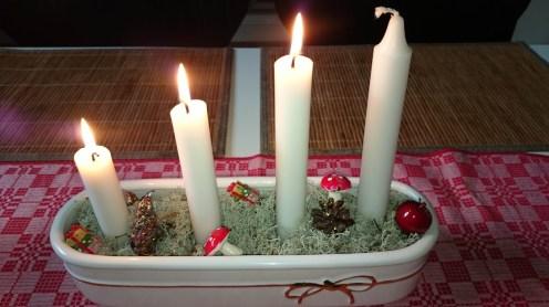 свечи на рождество в швеции