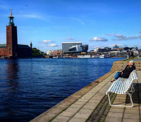 бабье лето 2017 в Стокгольме погода 20 градусов