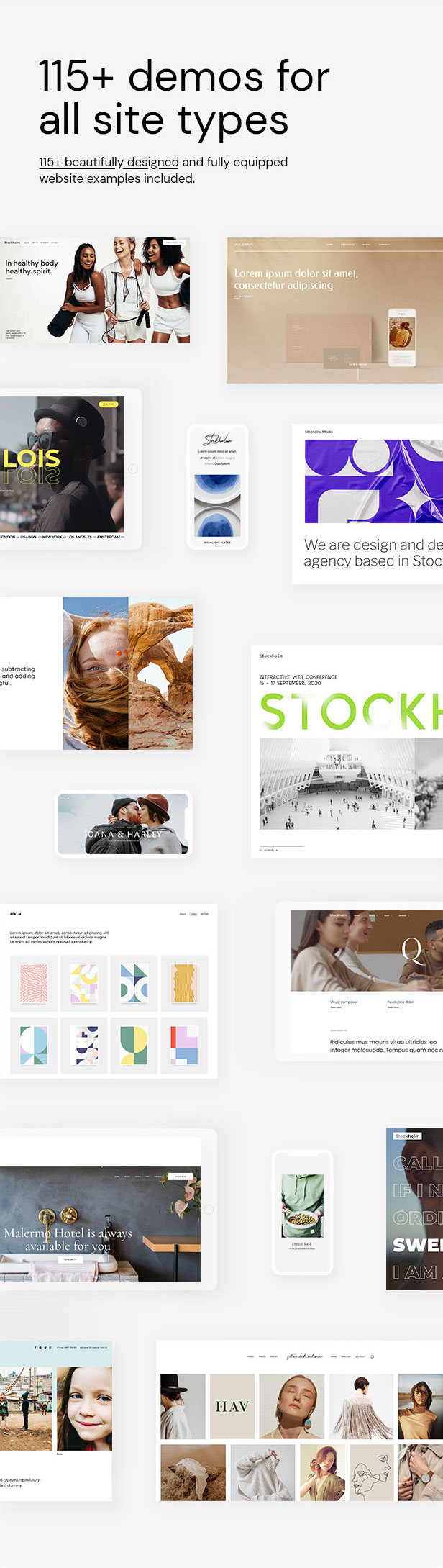 Stockholm - A Genuinely Multi-Concept Theme - 2