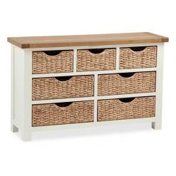 Suffolk Chest of Drawers with Baskets