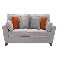 Cantrell 2 Seater Sofa - Silver