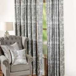 Romayo Silver Curtains