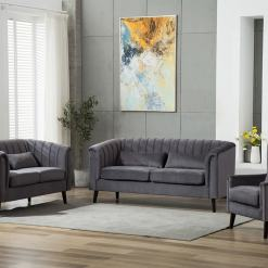 Meabh Sofa Suite - Grey