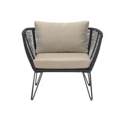 Mundo Lounge Chair Black