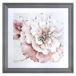 Vintage Pink Framed Picture