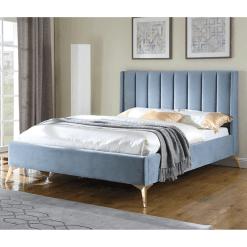 Clara Blue Bedframe