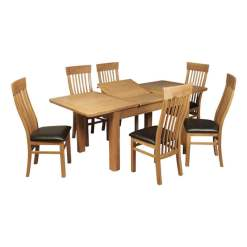 Treviso Oak Dining Set