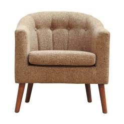 Tessa Rome Brown Chair