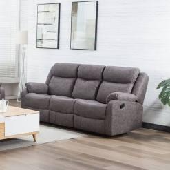 Erica Grey 3 Seater Sofa