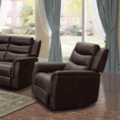 Oscar Brown 1 Seater Sofa