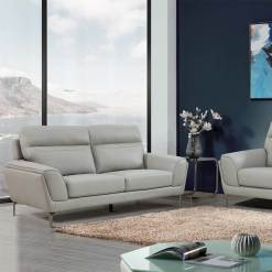 Vitalia Leather Sofa Suite