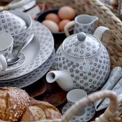 Elsa Grey Teapot