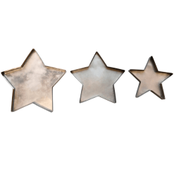 Star Plates Set of 3
