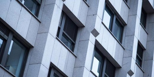 architectural detail of office building free stock image