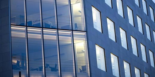 free stock image of detail on office building windows