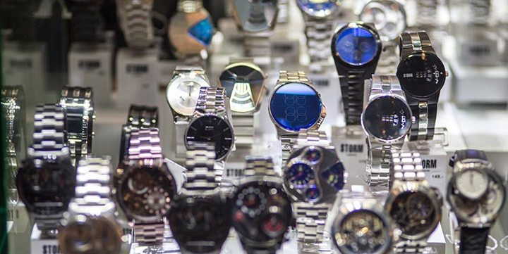 free stock image of watches displayed for sale