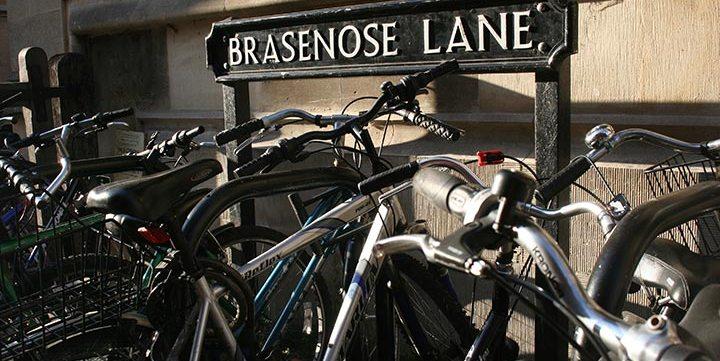 free stock image of brasenose lane oxford