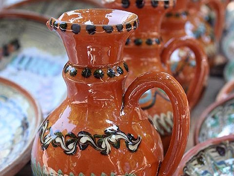 free stock image of romanian pottery