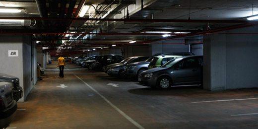 free stock image of underground parking