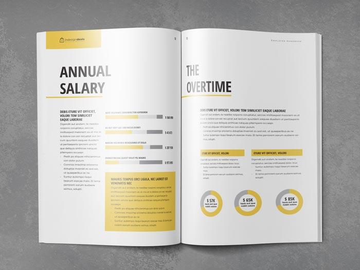 Employee Handbook Template StockInDesign