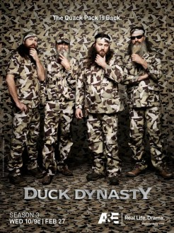 "Photo by Art Streiber. From ""Art Streiber shoots camo-licious key art for 'Duck Dynasty.' Plus: behind-the-scenes video and stills."""