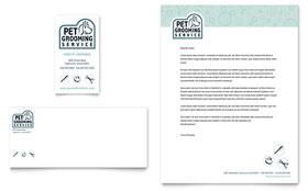 Pet Grooming Service Brochure Template Design