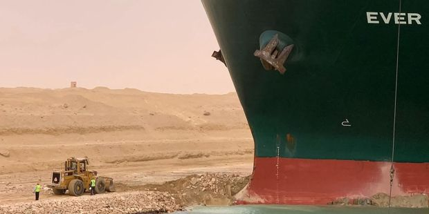 The Suez Canal Is Still Blocked. These Stocks Could Benefit.