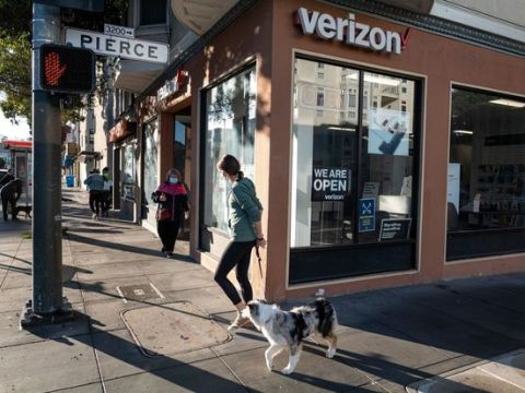 Verizon Reports Earnings Wednesday. Here's What To Expect.