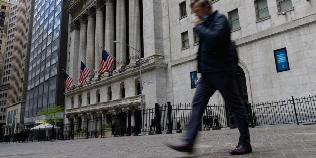 Stocks drop after Fed minutes released, as inflation talk drives investor unease