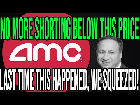 AMC STOCK 🔥 HEDGE FUNDS CAN'T SHORT ANYMORE! + THIS MAKES HIGH AMC SHORT SQUEEZE FLOOR POSSIBLE!