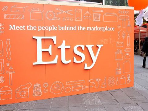 Etsy stock falls 14% after company's buyer base doesn't grow as expected