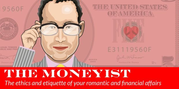 My second husband pays $1,200 toward our living expenses