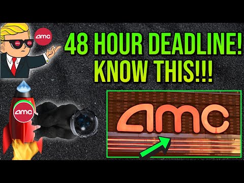 AMC STOCK | forty eight HOURS REMAINING! OPTIONS PRICING THIS MAJOR MOVE!!!